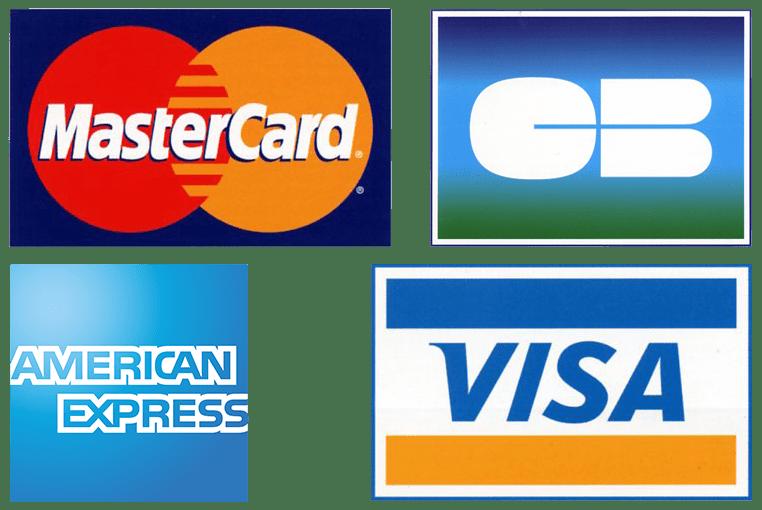 Paiement par carte bancaire avec Stripe Visa, mastercard, American Express et Paypal